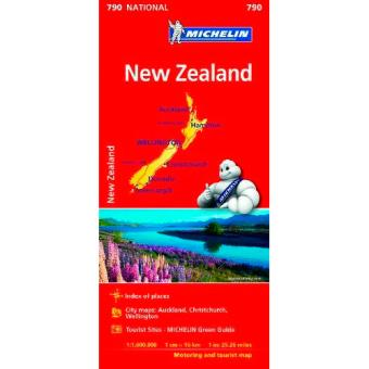 Mapa National - Nueva Zelanda