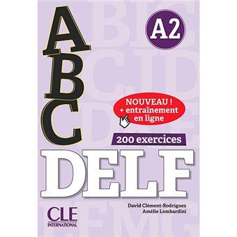 ABC DELF - Niveau A2 - Livre + CD