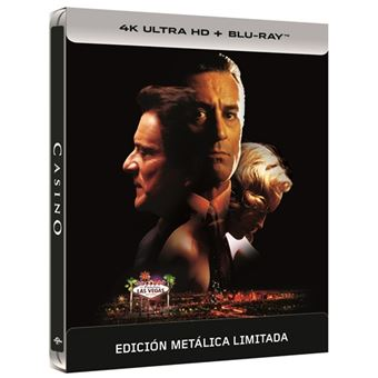 Casino - Steelbook UHD + Blu-Ray
