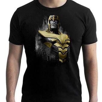 Camiseta Marvel Vengadores Endgame Negro Thanos - Talla S