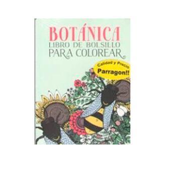 Botánica. Libro de bolsillo para colorear