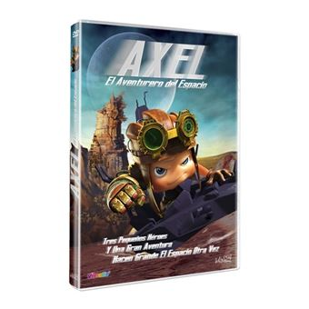 Axel, el aventurero del espacio - DVD