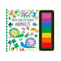 Pinta con los Dedos: Animales