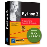 Pack Python 3 - De la algoritmia al dominio del lenguaje - 2 libros