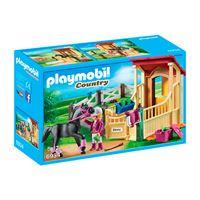Playmobil Country Caballo árabe con establo