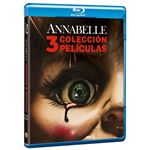 Pack Trilogía Annabelle - Blu-Ray