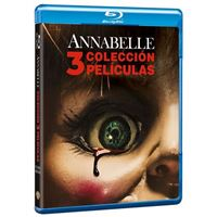 Pack Trilogía Annabelle - Blu-Ray