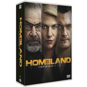 Pack Homeland (Temporada 1-5) - DVD