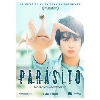 Pack Parasito - Blu-Ray, saga completa