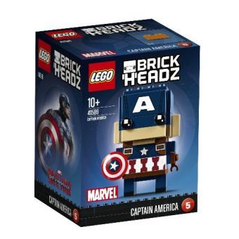 LEGO BrickHeadz Marvel Vengadores - Capitán América