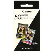 Papel fotográfico Canon Zink Zoemini 50 hojas