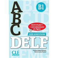 ABC DELF - Niveau B1 - Livre + CD