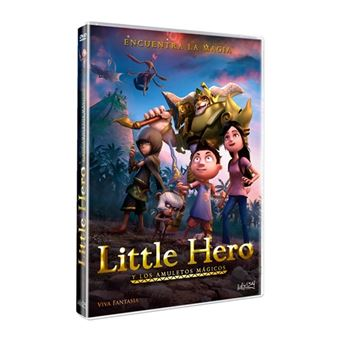 Little Hero y Los amuletos mágicos - DVD