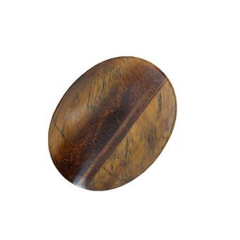 Piedra de masaje Ojo de tigre Marrón