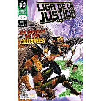 Liga De La Justicia Núm. 89/11 grapa