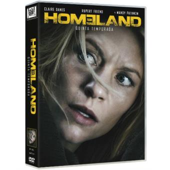 Homeland  Temporada 5 - DVD
