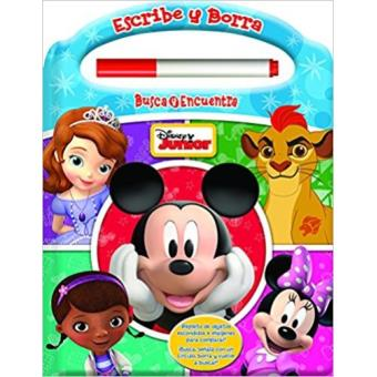 Escribe y borra. Disney Junior