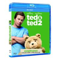 Pack Ted - Ted + Ted 2 - Blu-Ray