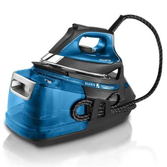 Centro de planchado Rowenta Silence Steam Pro DG9222 Azul/Negro