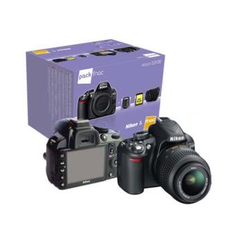 Nikon D3100 kit ( Tarjeta SD 4GB + Funda)  + 18-105VR mm Cámara Réflex Digital