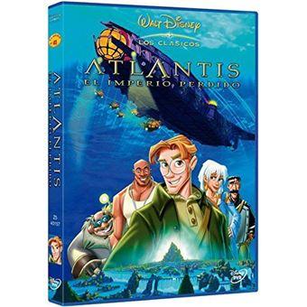 Atlantis: El Imperio perdido - DVD
