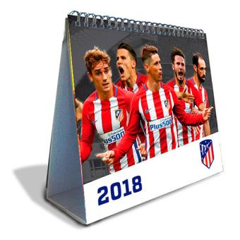 Calendario Atletico Madrid.Calendario De Sobremesa Deluxe 2018 Atletico De Madrid 5