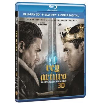 Rey Arturo: La leyenda de Excalibur - Blu-Ray + 3D