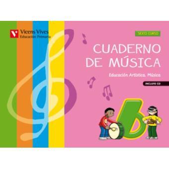 Cuaderno de Música 6+CD
