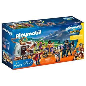 Playmobil The Movie Charlie con carro prisión