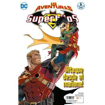 Las aventuras de los Superhijos núm. 06 grapa