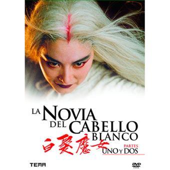 Pack La Novia del Cabello Blanco 1 y 2 - DVD