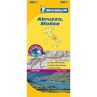 Mapa Local Abruzzo, Molise