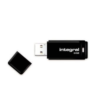 Pendrive Integral Memoria USB 2.0  64 GB negro