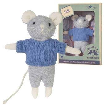 La casa de los ratones: Peluche Sam - 13 cm