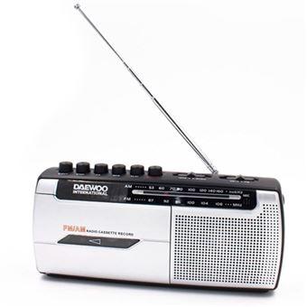 Radiocasesette Daewoo DRP-107 AM/FM