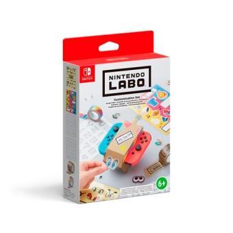 Set Labo de personalización Nintendo Switch