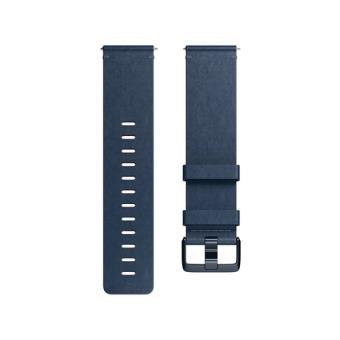 Correa Fitbit Versa Cuero Azul Talla L