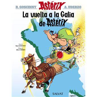 Astérix Nº 5 - La vuelta a la Galia de Astérix