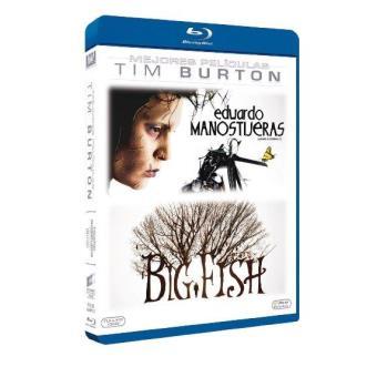 Pack Tim Burton: Eduardo Manostijeras + Big Fish - Blu-ray