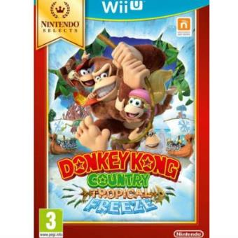 Donkey Kong Country: Tropical Freeze Selects Wii IU
