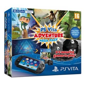 Ps Vita + Adventure Mega Pack + 8 GB