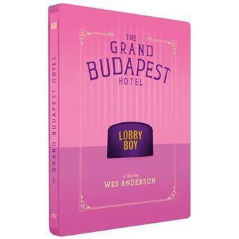 El Gran Hotel Budapest - Steelbook Blu-Ray