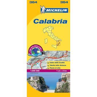 Mapa Local: Calabria