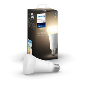 Bombilla inteligente Philips E27 100W Blanco