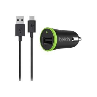 Cargador de coche Belkin 2.1 A Micro USB Negro