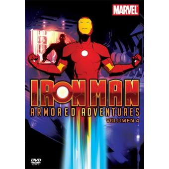 Iron Man Armored Adventures (1ª Temporada - Volumen 4) - DVD
