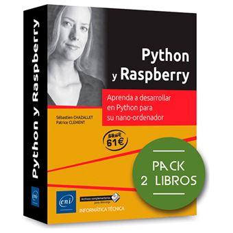 Python y Raspberry - Pack 2 libros