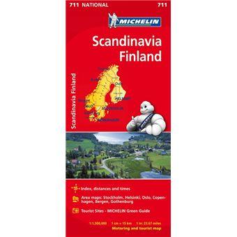 Mapa National Escandinavia Finlandia