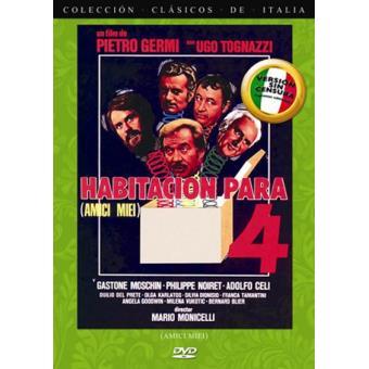 Habitación para cuatro - DVD