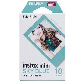 Papel Fujifilm Azul para cámaras Instax Mini
